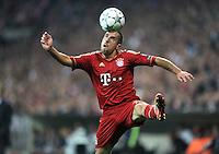 FUSSBALL   CHAMPIONS LEAGUE   SAISON 2011/2012     27.09.2011 FC Bayern Muenchen - Manchester City FC Franck Ribery (FC Bayern Muenchen)