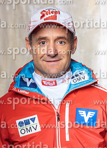 08.10.2016, Olympia Eisstadion, Innsbruck, AUT, OeSV Einkleidung Winterkollektion, Portraits 2016, im Bild Christoph Probst, Skisprung Herren // during the Outfitting of the Ski Austria Winter Collection and official Portrait Photoshooting at the Olympia Eisstadion in Innsbruck, Austria on 2016/10/08. EXPA Pictures © 2016, PhotoCredit: EXPA/ JFK