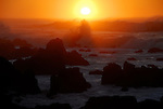 Sunset at Asilomar State Beach in Pacific Grove