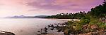 View along Four Mile Beach at twilight.  Port Douglas, Queensland, Australia
