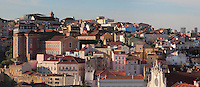 View over the rooftops of Alfama, the oldest district in the city and the original Moorish area, Lisbon, Portugal. Picture by Manuel Cohen