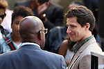 Al Roker interviews Andy Samberg on NBC's Today Show in New York City. June 8, 2012. &copy; RW/MediaPunch Inc.