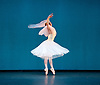 The Royal Danish Ballet soloists &amp; principals <br /> Bournoville Celebration <br /> at The Peacock Theatre, London, Great Britain <br /> press photocall<br /> 9th January 2015 <br /> <br /> La Sylphide <br /> Gudrun Bojesen as the Sylph <br /> <br /> <br /> <br /> <br /> Photograph by Elliott Franks <br /> Image licensed to Elliott Franks Photography Services
