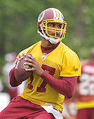 Ashburn, VA - May 2, 2009 -- Quarterback Jason Campbell (17) participates in the 2009 Washington Redskins mini-camp at Redskins Park in Ashburn Virginia on Saturday, May 2, 2008..Credit: Ron Sachs / CNP