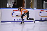 SCHAATSEN: LEEUWARDEN: 09-10-2015, Elfstedenhal, Training topsport, Melissa Wijfje, ©foto Martin de Jong