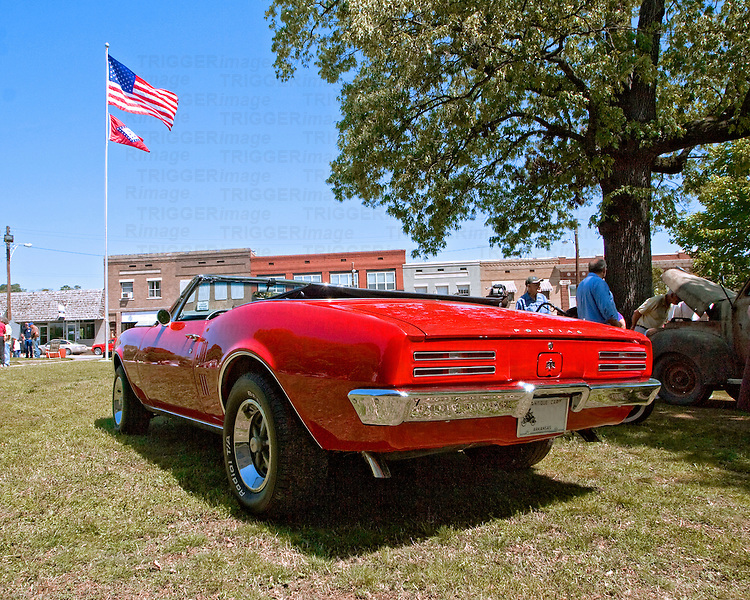 A convertible from the first year of this muscle car line... an American icon.