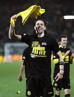 FUSSBALL   DFB POKAL   SAISON 2011/2012   HALBFINALE SpVgg Greuther Fuerth - Borussia Dortmund                  20.03.2012 Jubel nach dem Sieg, Neven Subotic (Borussia Dortmund)