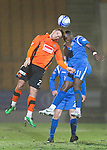 St Johnstone v Dundee United....22.02.11 .David Goodwillie and Cleveland Taylor.Picture by Graeme Hart..Copyright Perthshire Picture Agency.Tel: 01738 623350  Mobile: 07990 594431