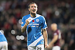 Hearts v St Johnstone&hellip;05.11.16  Tynecastle   SPFL<br />Chris Kane celebrates his goal<br />Picture by Graeme Hart.<br />Copyright Perthshire Picture Agency<br />Tel: 01738 623350  Mobile: 07990 594431