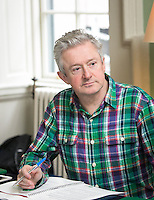 02/04/2015<br /> Louis Walsh Entertainment Manager &amp; X factor judge<br />  during the Pride of Ireland judging day in the Mansion House, Dublin.<br /> Photo:  Gareth Chaney Collins