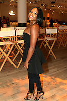 NEW YORK, NY - SEPTEMBER 12: Naturi Naughton backstage at the Serena Williams Signature Collection for HSN Spring 2017 Runway Show at KIA Style 360 in New York City on September 12, 2016. Credit: Walik Goshorn/MediaPunch