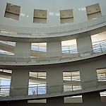The High Museum of Art Atlanta Georgia Interior circular stairs