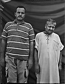 Islahiye, August- September 2012, Turkey<br /> Ibrahim Amin and Ahmad Abd al-Latif   - Syrian refugees<br /> (Photo by Filip Cwik / Napo Images )<br /> <br /> PICTURE TAKEN ON NEGATIVES POLAROID 55<br /> <br /> Islahiye, sierpien-wrzesien 2012 Turcja <br /> Ibrahim Amin and Ahmad Abd al-Latif<br /> (fot. Filip Cwik / Napo Images)