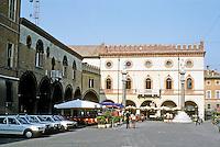 Italy: Ravenna--Palazetto Veneziano in the Piazza Del Popolo. Photo '83.