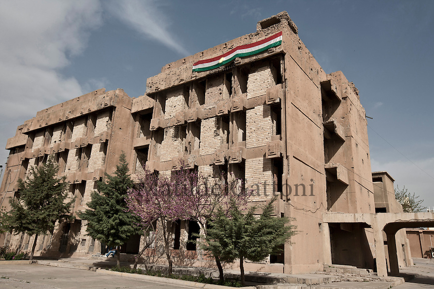 Iraq - Kurdistan - Sulaymaniyah -  The Red Jail, today a museum, it was used under the Saddam regime to control the city and torture the Kurds it was then called The Sulaymaniyah security or The Red security by the people.