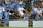 12 September 2014: Pitt's Ryan Myers. The University of North Carolina Tar Heels hosted the Pittsburgh University Panthers at Fetzer Field in Chapel Hill, NC in a 2014 NCAA Division I Men's Soccer match. North Carolina won the game 3-0.