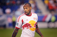 HARRISON, NJ - Saturday July 19, 2014: The New York Red Bulls tie the San Jose Earthquakes 1-1 at Red Bull Arena in regular season MLS play.