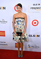 BEVERLY HILLS, CA. October 21, 2016: Actress Nina Dobrev at the 2016 GLSEN Respect Awards, honoring leaders iin the fight against bullying &amp; discrimination in schools, at the Beverly Wilshire Hotel.<br /> Picture: Paul Smith/Featureflash/SilverHub 0208 004 5359/ 07711 972644 Editors@silverhubmedia.com