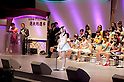 June 6, 2012, Tokyo, Japan - Speech of Mayu Watanabe, the second at election.  AKB General Election at Nippon Budokan. The biggest girl band in the world and Japan's most popular pop group elected its new leader in a nationwide election open to all fans. The collective is organised into different units which in turn are sometimes split into smaller groups. The night involved singing, games, tears and the eventual crowning of new leader Yuko Oshima from Team K with 108837 votes for most popular member..