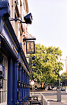 Baker Street NW1, City Of Westminster, England, The Volunteer Charrington Sign