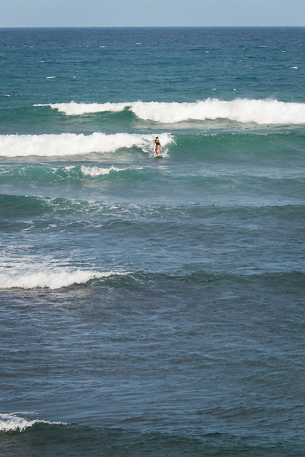 surfer at Jialeshui, Kenting, Pingtung County, Taiwan