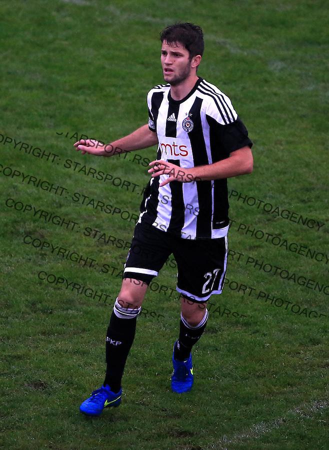 Fudbal Jelen Super League season 2015-2016<br /> Vozdovac v Partizan<br /> Nebojsa Kosovic<br /> Beograd, 27.09.2015.<br /> foto: Srdjan Stevanovic/Starsportphoto&copy;