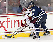 Steven Whitney (BC - 21), Eric Knodel (UNH - 5) - The Boston College Eagles defeated the visiting University of New Hampshire Wildcats 5-2 on Friday, January 11, 2013, at Kelley Rink in Conte Forum in Chestnut Hill, Massachusetts.