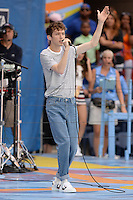FLUSHING NY- AUGUST 27: Troye Sivan performs during Arthur Ashe kids day at the USTA Billie Jean King National Tennis Center on August 27, 2016 in Flushing Queens. Photo byMPI04 / MediaPunch