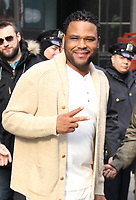 MAR 24 Anthony Anderson Seen In NYC