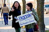 Scene Outside Bernie Sanders Rally West Allis Wisconsin 3-29-16