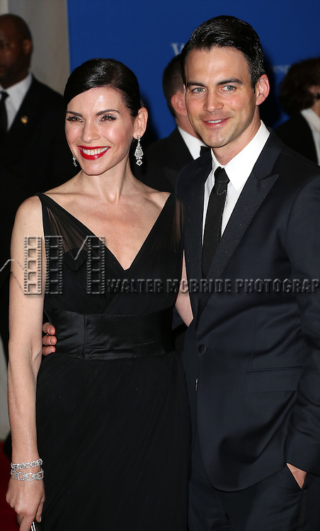 Julianna Margulies and Keith Lieberthal attends the 100th Annual White House Correspondents' Association Dinner at the Washington Hilton on May 3, 2014 in Washington, D.C.