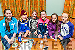 Enjoying the Table Quiz in aid of the Girl Guides at the Na Gaeil on Friday were Chloe Fitzpatick, Clodagh O Sullivan, Patricia Gutteridge,   Kerri O'Connor, Lauren Mullens, Emma Buckley
