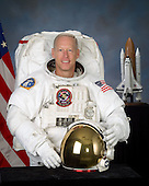 Houston, TX - (FILE) -- Photo dated August 19, 2005 of Astronaut Patrick G. Forrester, mission specialist, STS-128.  Commander Rick Sturckow will lead the STS-128 mission to the International Space Station aboard space shuttle Discovery with Kevin Ford serving as pilot.  It is scheduled for launch on August 25, 2009.  Also serving aboard Discovery are mission specialists Patrick Forrester, Jos&eacute; Hern&aacute;ndez, John &quot;Danny&quot; Olivas, Christer Fuglesang and Nicole Stott. Stott will remain on the station as an Expedition 20 flight engineer replacing Timothy Kopra. Kopra will return home aboard Discovery as a mission specialist. Discovery is carrying the Leonardo Multi-Purpose Logistics Module containing life support racks and science racks. The Lightweight Multi-Purpose Experiment Support Structure Carrier will also be launched in Discovery's payload bay. This is Discovery's 37th mission to space and the 30th mission of a space shuttle dedicated to the assembly and maintenance of the International Space Station. .Credit: NASA via CNP