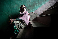 "Saleema is a half widow belonging Kawari village in Kupwara district, where several cases of enforced disappearance had taken place. Her husband Shabir Ahemad was a soldier in anIndian army unity when was missing on duty. Army declared him ""defector who ran away to Pakistan"". However in 2006 Shabir was disappeared  when was going back from Holidays to the army base camp. Kupwara district, Indian administrated Kashmir."