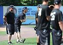 MLB: Former New York Yankee Hideki Matsui training in New York
