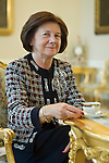 11.12.2008 Warsaw Poland Maria Kaczynska First Lady in Presidents Palace. photo Piotr Gesicki Warszawa nz Maria Kaczynska w Palacu Prezydenckim w sali bialej.Fot  Piotr Gesicki