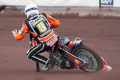 Heat 4: Peter Karlsson of Wolves - Lakeside Hammers vs Wolverhampton Wolves - Elite League Speedway at Arena Essex Raceway - 16/05/11 - MANDATORY CREDIT: Gavin Ellis/TGSPHOTO - Self billing applies where appropriate - Tel: 0845 094 6026