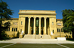 California: Stanford: Stanford University campus, Center for the Visual Arts,  Photo: castan105.Photo copyright Lee Foster, 510/549-2202, lee@fostertravel.com, www.fostertravel.com