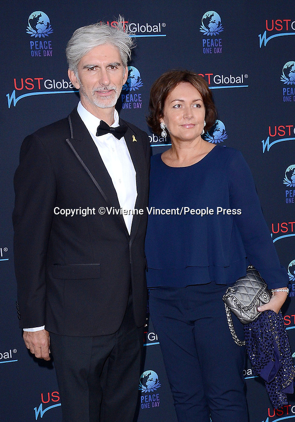 Peace One Day Gala, The Hurlingham Club, London on September 3rd 2014<br /> <br /> Photo by Vivienne Vincent