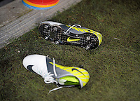NIKE-Shoes, during the friendly match Italy against USA at the Stadium Luigi Ferraris at Genova Italy on february the 29th, 2012.