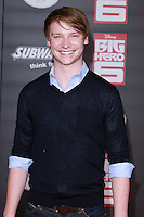 HOLLYWOOD, LOS ANGELES, CA, USA - NOVEMBER 04: Calum Worthy arrives at the Los Angeles Premiere Of Disney's 'Big Hero 6' held at the El Capitan Theatre on November 4, 2014 in Hollywood, Los Angeles, California, United States. (Photo by David Acosta/Celebrity Monitor)