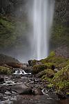 Latourell Falls along the Historic Columbia River Highway