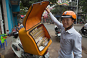 Cigarette vendor, Vietnam