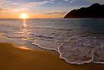 Sunset at Lam Puuk Beach, Aceh.