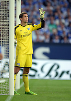 FUSSBALL   1. BUNDESLIGA   SAISON 2013/2014   1. SPIELTAG FC Schalke 04 - Hamburger SV          11.08.2013 Rene Adler (Hamburger SV)