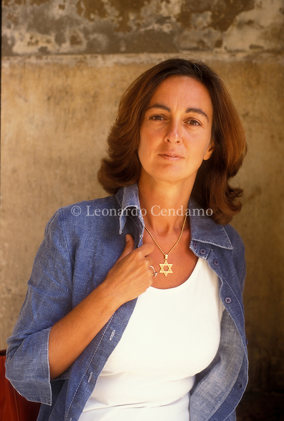 ELENA LOEWENTHAL, SCRITTRICE, TRADUTTRICE LETTERATURA ISRAELIANA. © Leonardo Cendamo