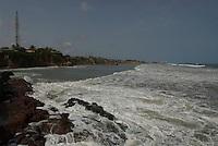 Assher town beachfront
