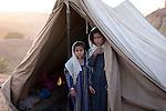 These ethnic Uzbek refugees from Afghanistan live in the Shamshatoo refugee camp near Peshawar, Pakistan.