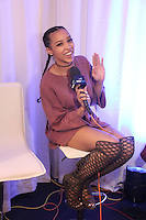 Tinashe at Westwood One Backstage at the American Music Awards at the L.A. Live Event Deck in Los Angeles, CA on November 18, 2016. Credit: David Edwards/MediaPunch