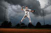 Photo by Gary Cosby Jr.   Ty Cosby, infielder for Muscle Shoals High School.